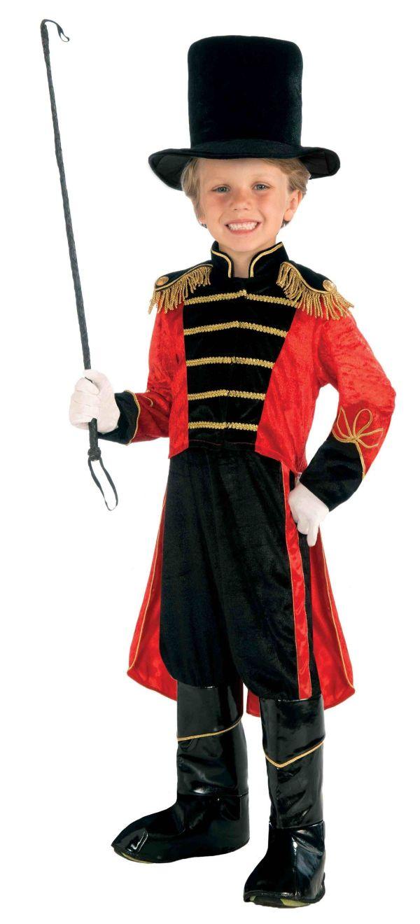 Boys Ring Master Circus Halloween Costume 47.99