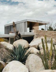Desert modernism modernhome modern home residence house design ideas mortgages for property development percent bridging loans  also rh pinterest