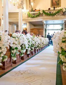 breathtaking church wedding decorations also rh pinterest