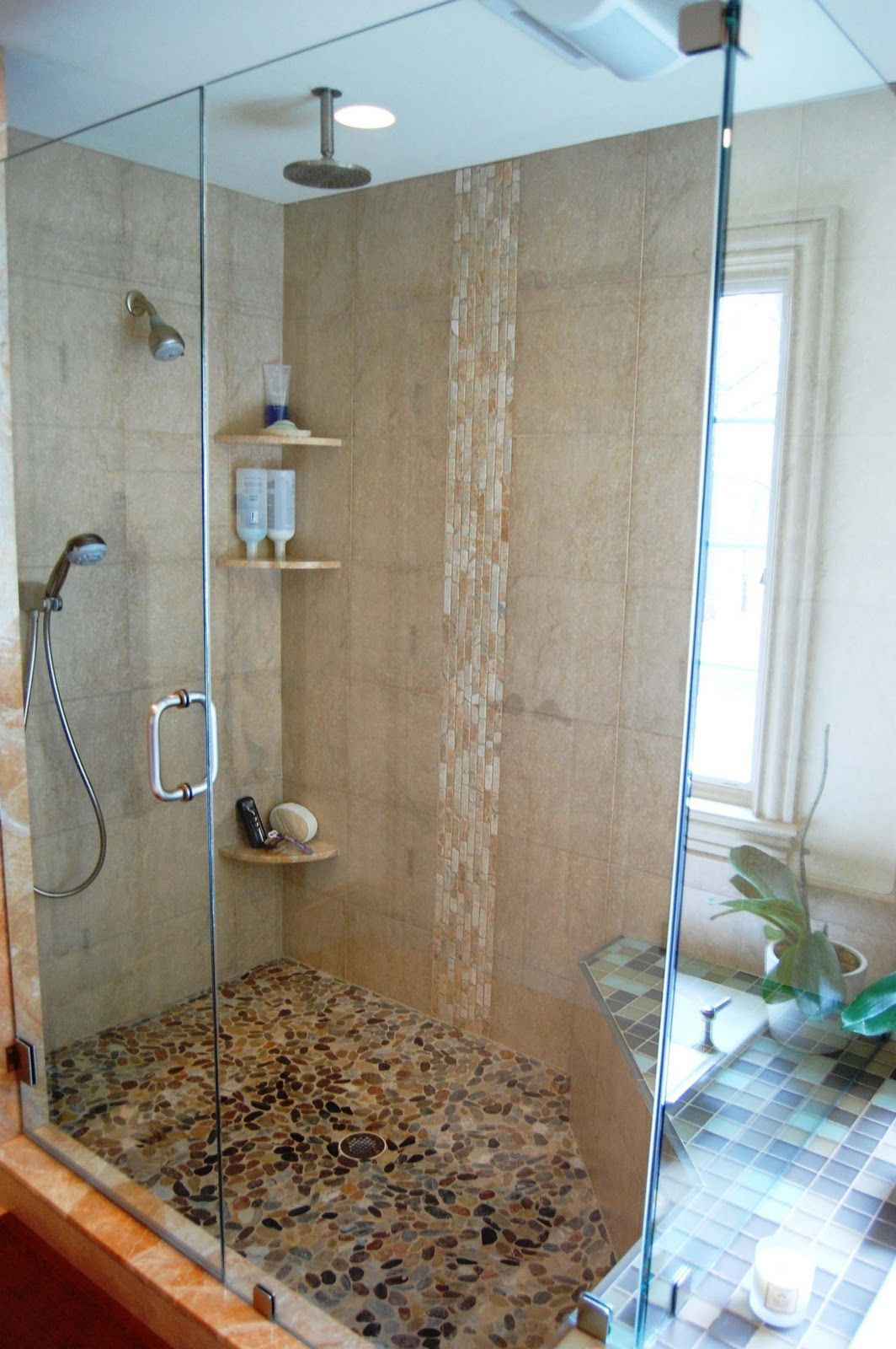Bathroom shower ideas waterfall bedroom ideas interior design  baths  Pinterest  Bedrooms