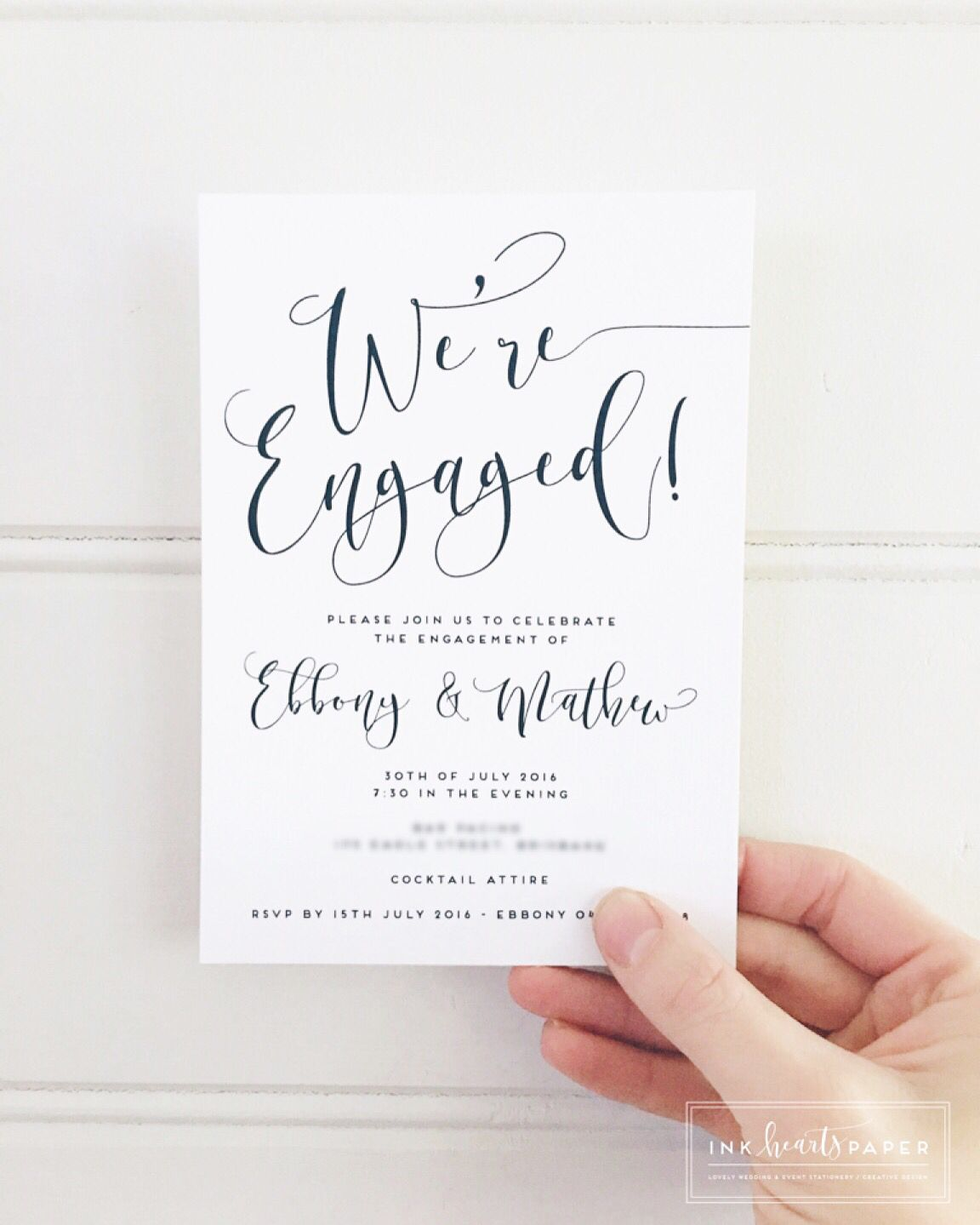 Professional Wedding Invitations