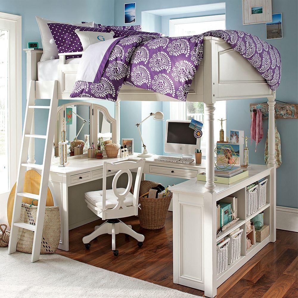 Mixing Work With Pleasure  Loft Beds With Desks