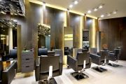 hair makeover salon interior