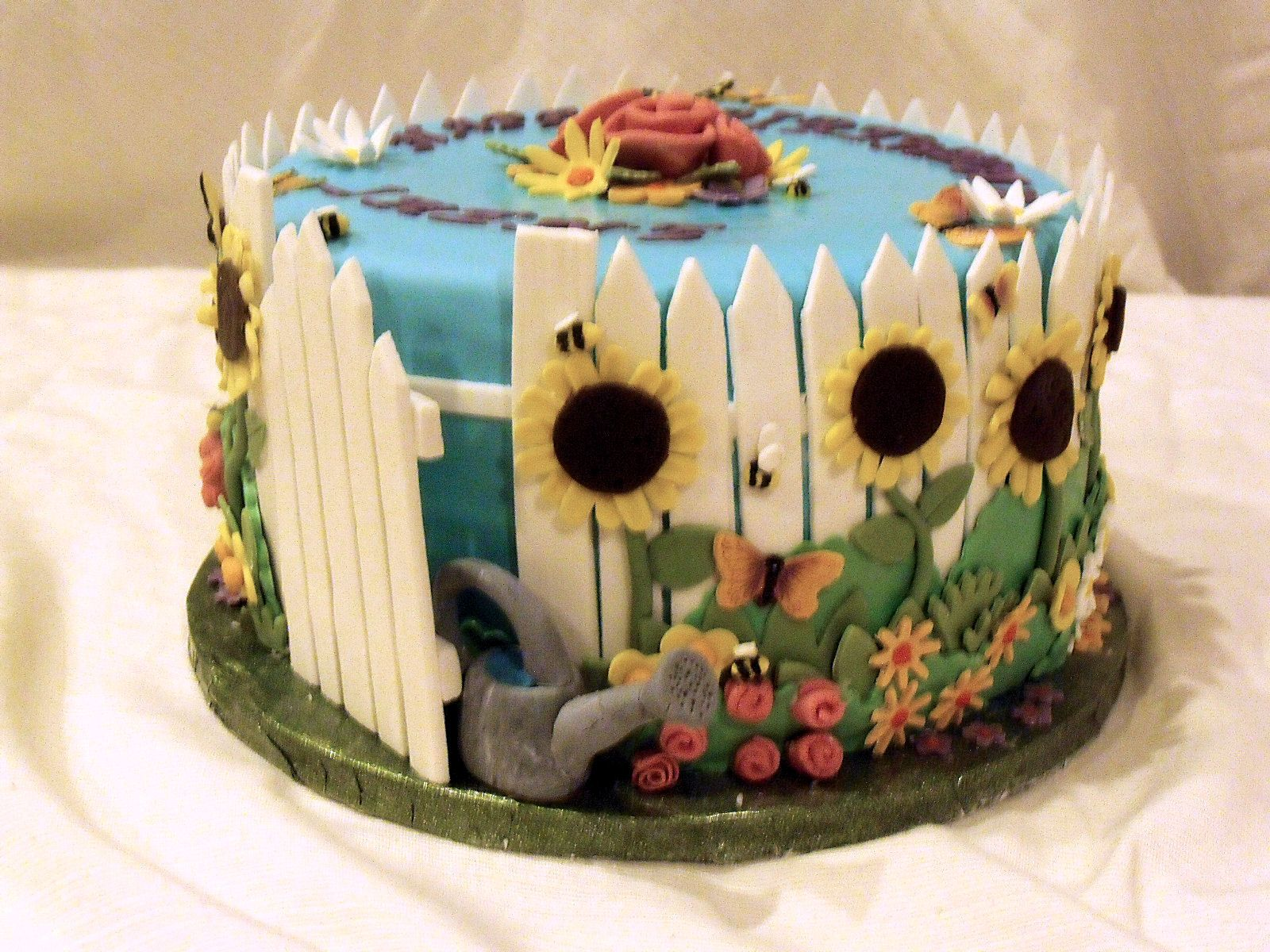Flower Garden Cake Ideas Uploaded To Pinterest Creative Cakes
