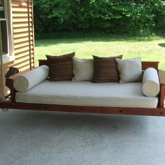 Swing Chair Hire Patio Bed Porch Made With Western Red Cedar Uses A
