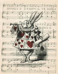 ALICE In WONDERLAND Home Decor Wall Decor Vintage by ...