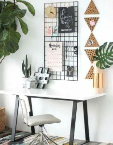 White studio home office space also pin by ame nordique on travail ou evasion pinterest room rh