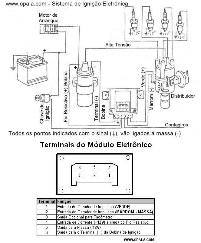 Eletrônica Epaulino: Diagrama de ligação do módulo de