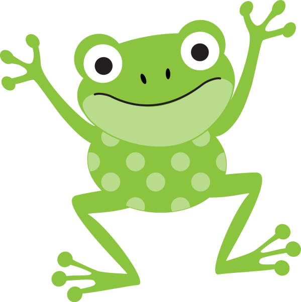 Frogs Buttons Art & Children Clip And Button