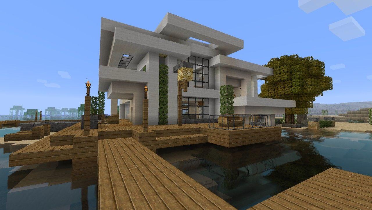 Minecraft Modern Home Blueprints Google Search Minecraft
