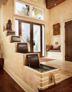 Entry way also photos instant ways to relax at home indoor water features rh pinterest