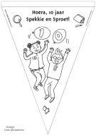 Speciaal voor het 10-jarig Spekkie en Sproet jubileum nu