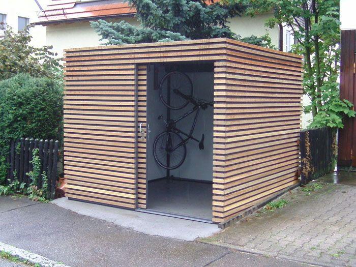 Gerätehaus Mit Fahrradaufhängung Shed Pinterest Gärten