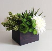 Artificial Succulent Planter / Floral Arrangement ...