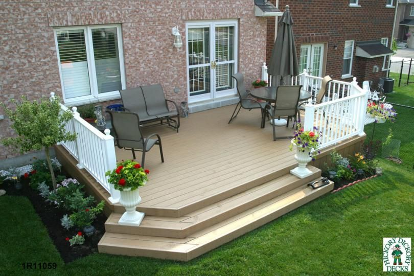 Deck Plans This Deck Plan Is For A Medium Size Single Level Deck