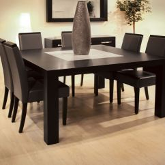 Tall Square Kitchen Table Best Material For Countertops Dining Counter Height Marble Top