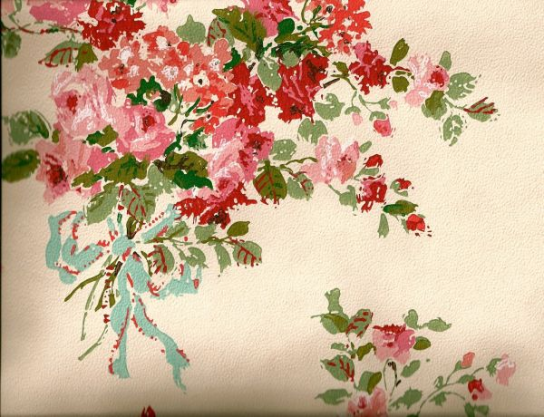 Vintage Shabby Chic Floral