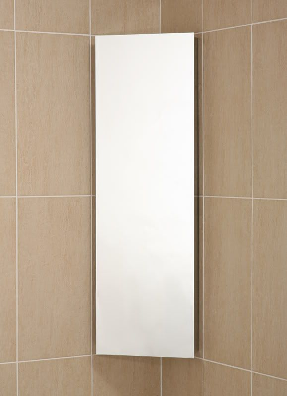 ebay Deluxe Stainless Steel Mirrored Corner Bathroom