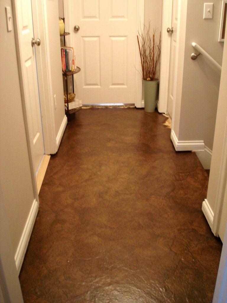 Brown paper bag floor  Kitchen Floor  Pinterest  Brown