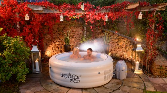 Lay Z Spa Inflatable Hot Tub Setup Advice Outdoor Garden Spa