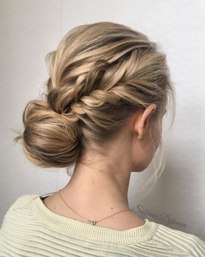 side updo for any bride looking for a unique style - fabmood
