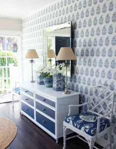 Wall decoration with wallpapers ideas in blue also paint colors rh za pinterest