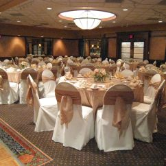 Chair Covers For Weddings Pinterest Animal Print High Ivory With Accent Tie And Table Linens Would