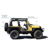 gobi-roof-racks-jeep-wrangler-tj-rack-height | Jeep ...
