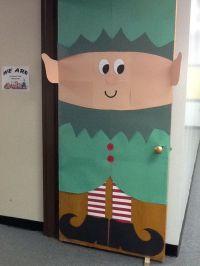 Elf door | Preschool Bulletin Boards | Pinterest | Puertas ...