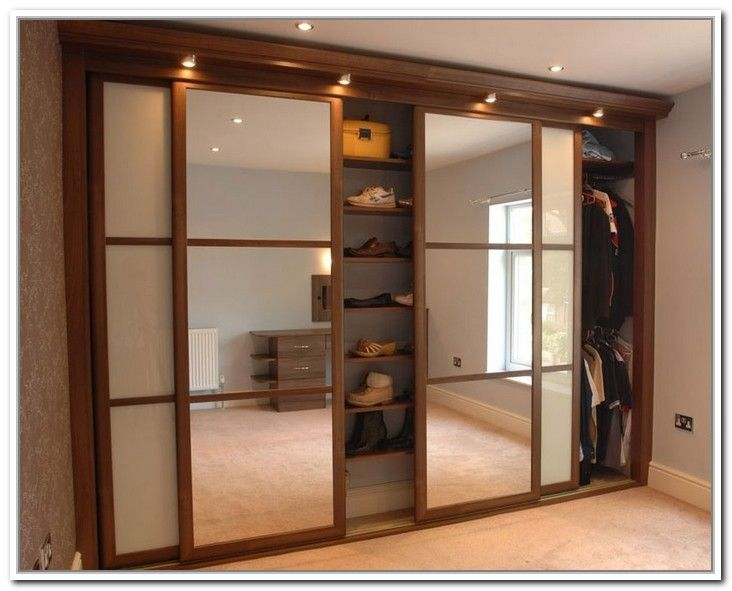 4 Panel Sliding Closet Doors