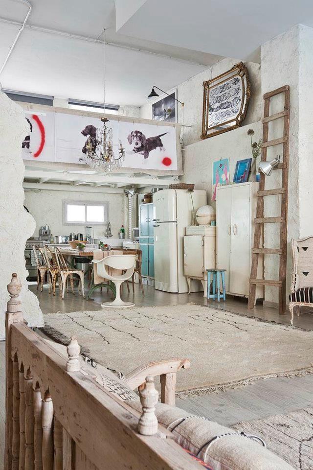 Manolo Yllera's Eclectic Vintage Home Loft Un And Home Tours