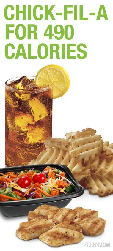 Fast Food Restaurants Under 500 Calories