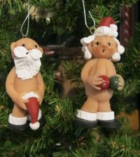 """Mr. & Mrs. Naughty Santa from """"The Naughty's"""" line of ..."""