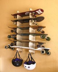 Soto6. This 6 board rack is wall mounted and holds ...