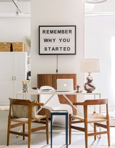 Monday motivation home offices that will kickstart your productivity apartment mondays spaces and interiors also rh pinterest