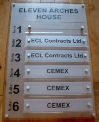 Office directory signs - office wall signs for business ...