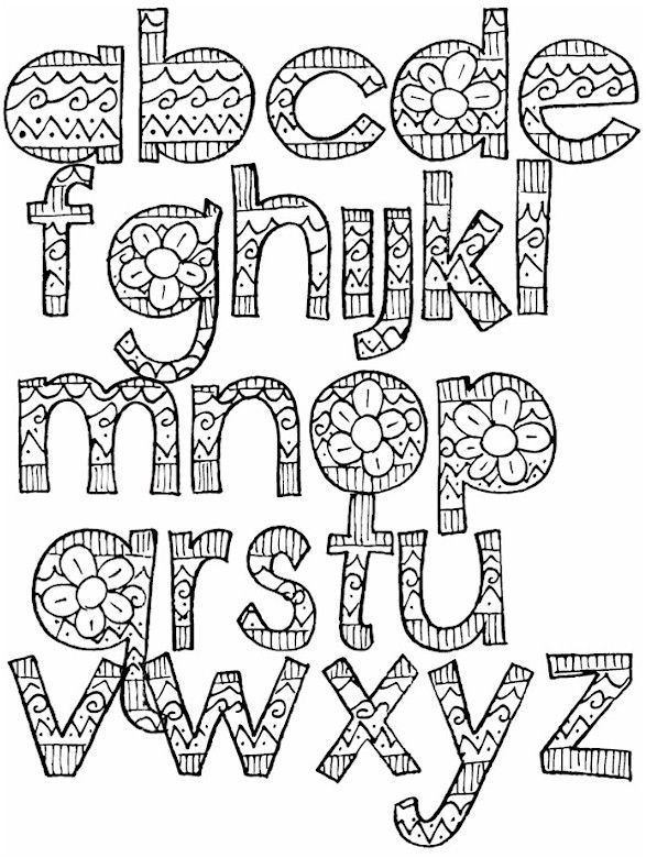 Bubble Letters Page Thank Cover You