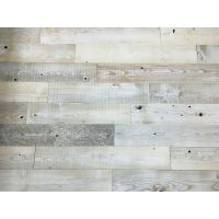 Peel And Stick Reclaimed Whitewash Wood, 5 Inch Planks ...