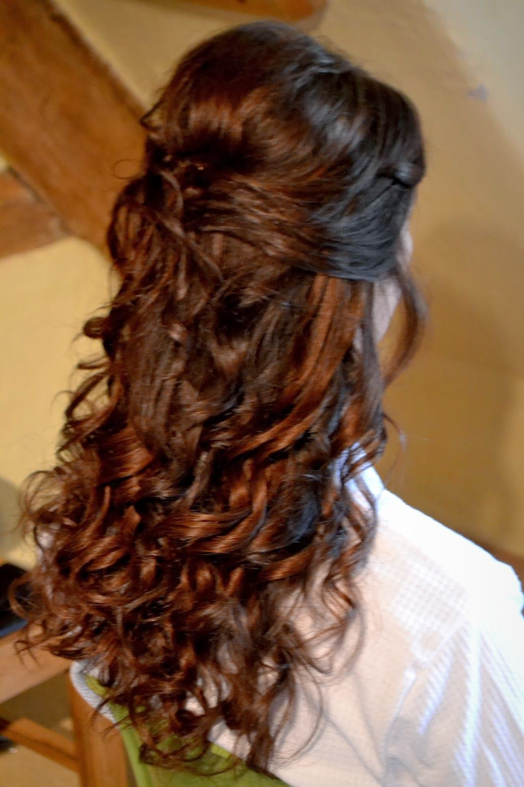 Half Up Hairstyles For Long Hair Half Updo Hairstyles Wedding