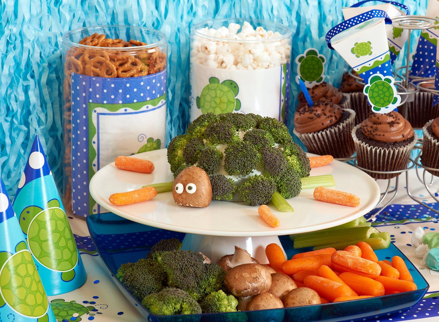Mr. Turtle Party Packs from BirthdayExpress.com
