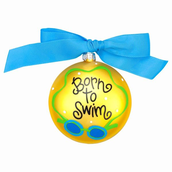 Born Swim Ornament Decorative Hanging