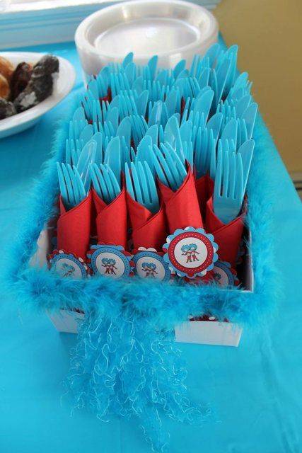 Thing 1 Thing 2 Baby Shower Party Ideas Sprinkles