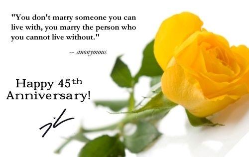 45th wedding anniversary poems textpoems org