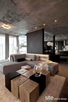 Room also modern living interior with taupe accents industrial rh pinterest