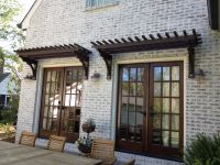 Trellis over French Doors | Window & Door Pergolas ...