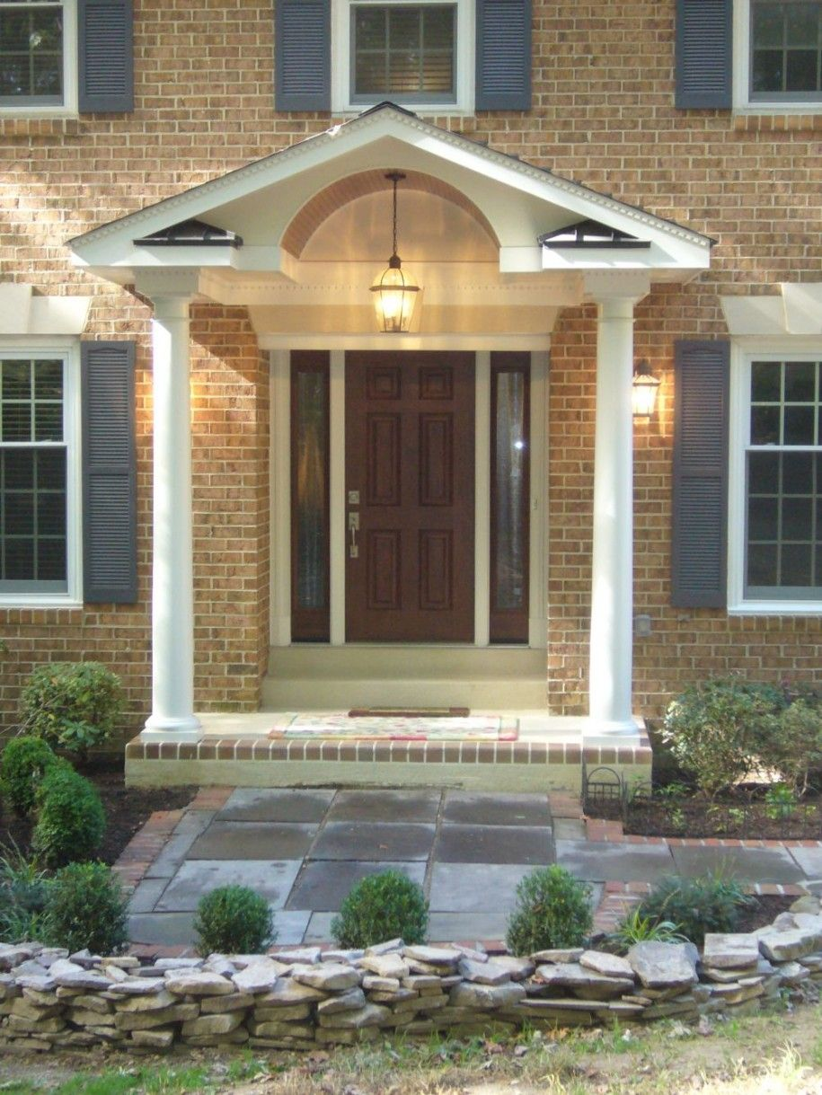 Exterior Home Design Classic And Modern Exterior Brick Front