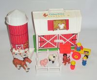 fisher price vintage toys - This was so much fun. The barn ...