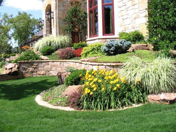 landscaping ideas front yard kansas