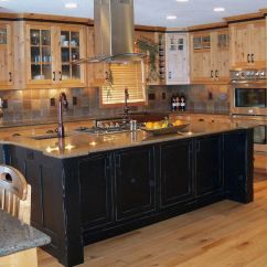Black Kitchen Islands Childrens Play Pictures Of Distressed