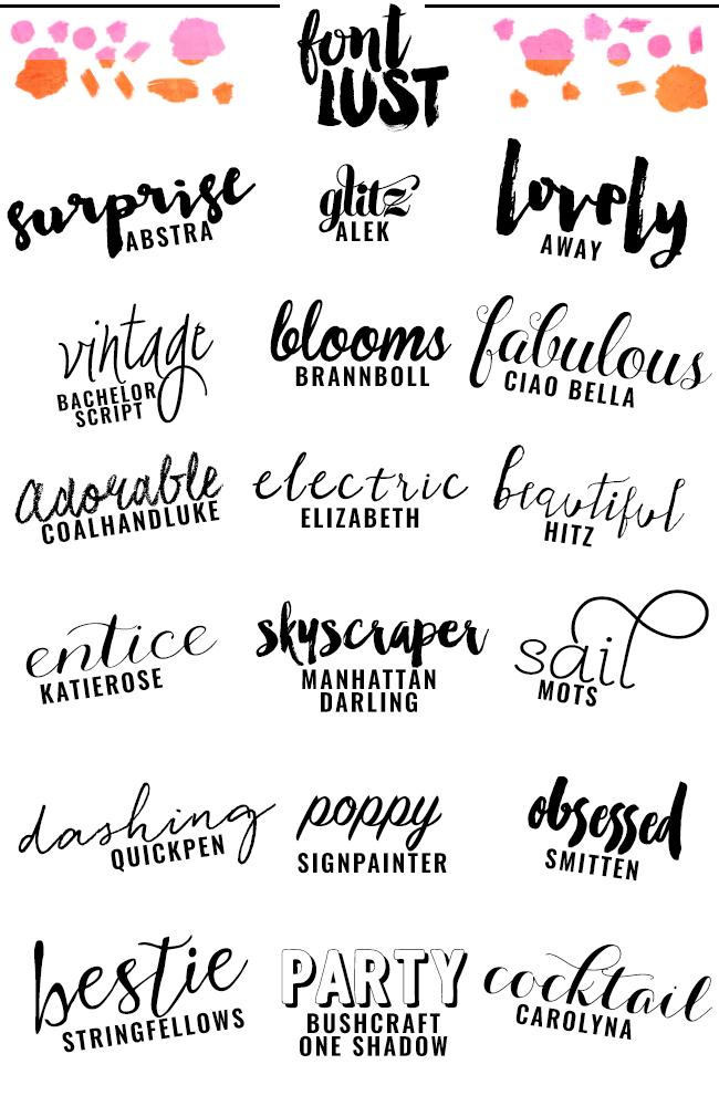 Best 25+ Best script fonts ideas on Pinterest